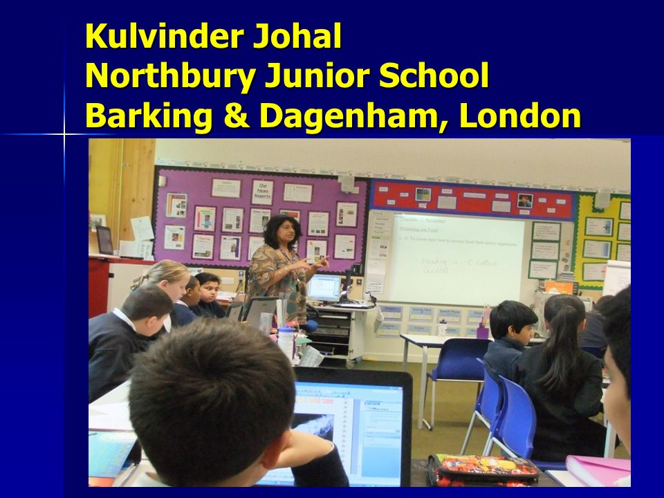 Kulvinder Johal Northbury Junior School Barking & Dagenham, London