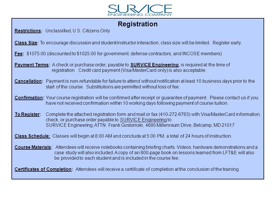 Registration Restrictions: Unclassified, U.S.