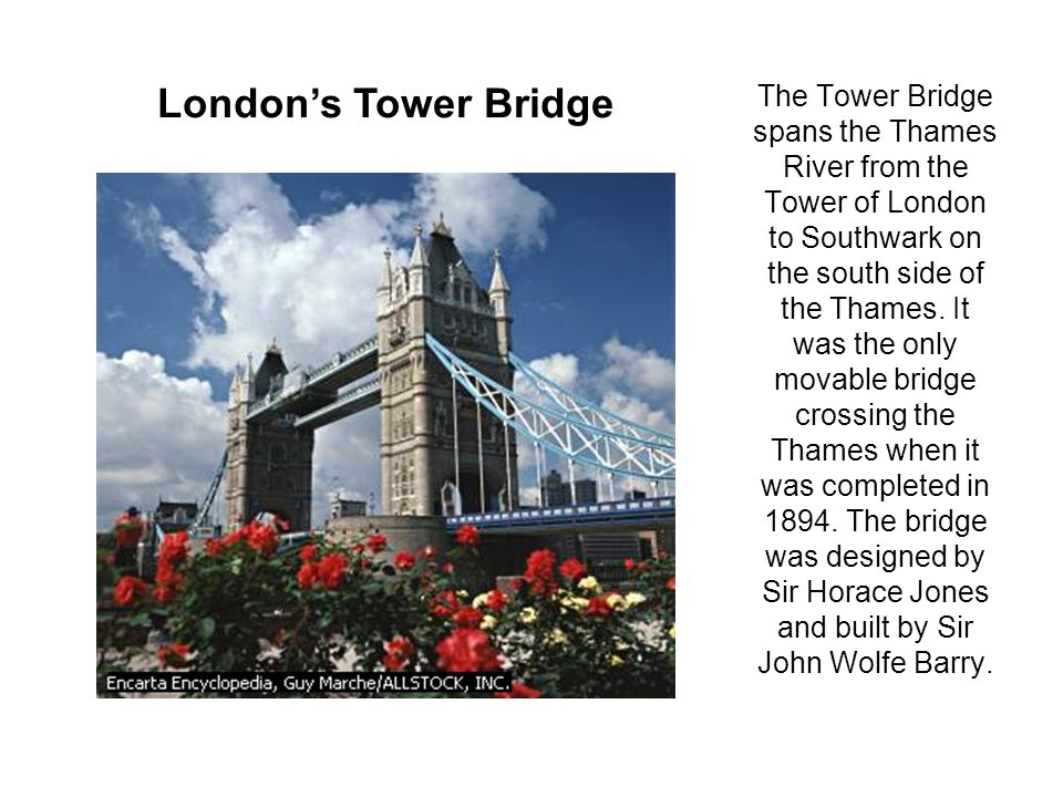 The Tower of London Area