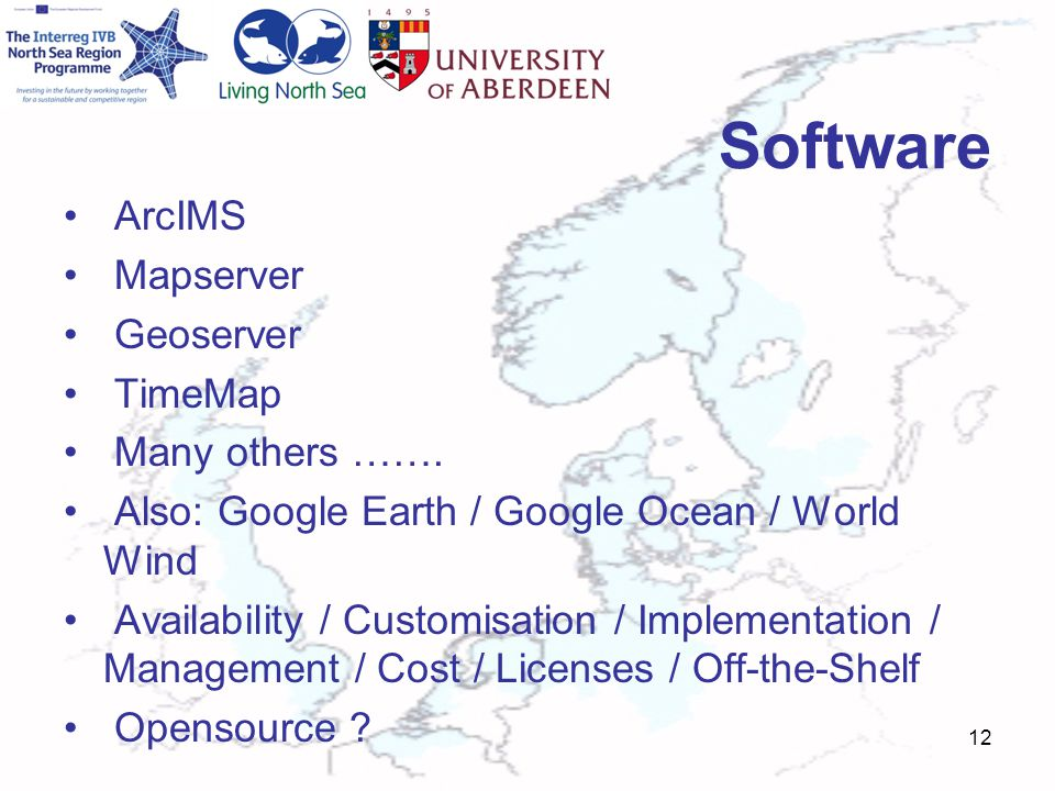 Software ArcIMS Mapserver Geoserver TimeMap Many others …….