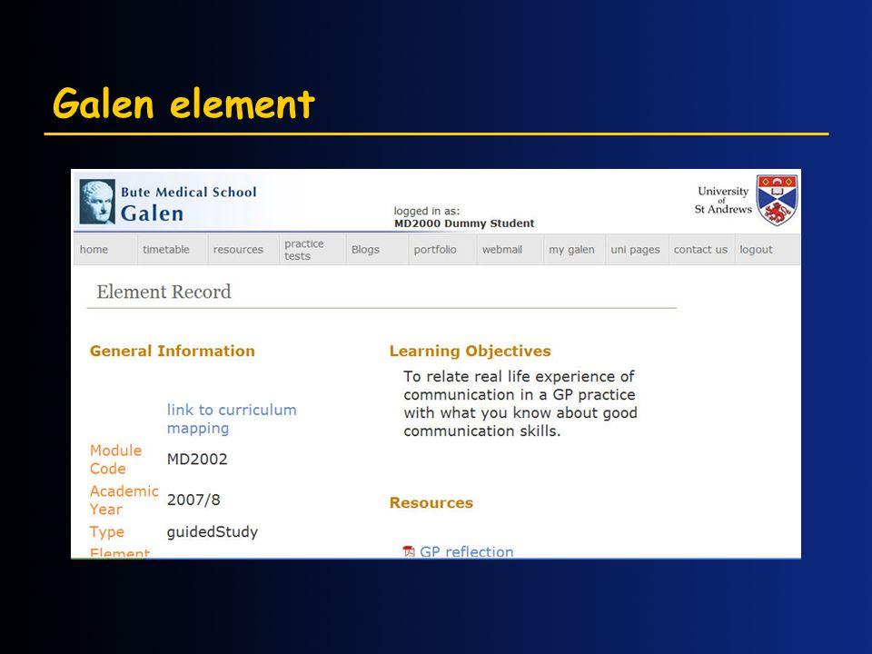 Galen element