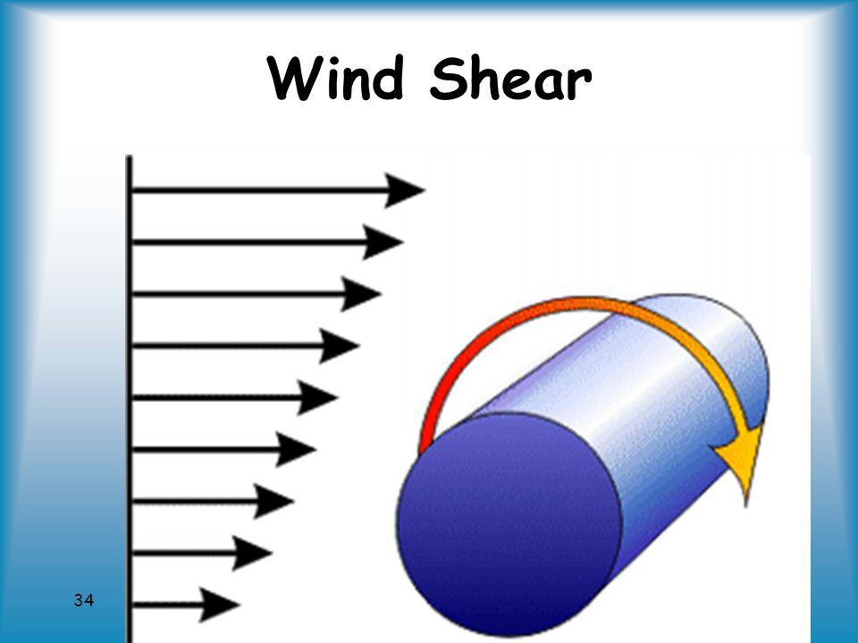 34 Wind Shear