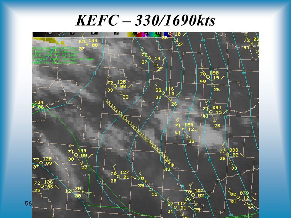 56 KEFC – 330/1690kts