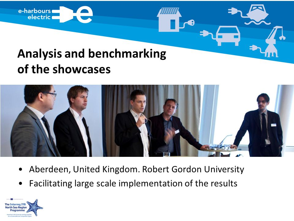 Analysis and benchmarking of the showcases Aberdeen, United Kingdom.