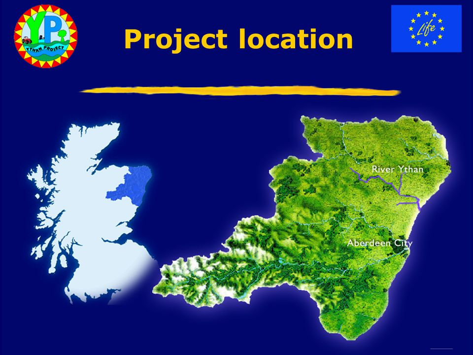 Project location River Ythan Aberdeen City Project location