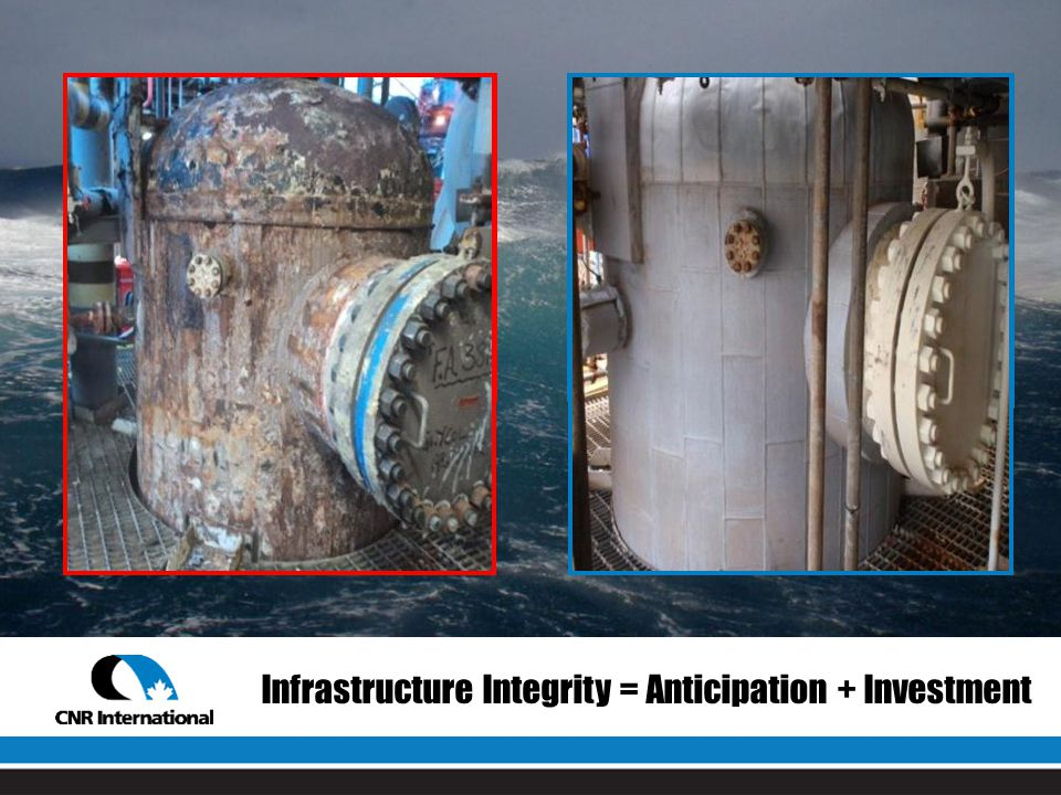Infrastructure Integrity = Anticipation + Investment