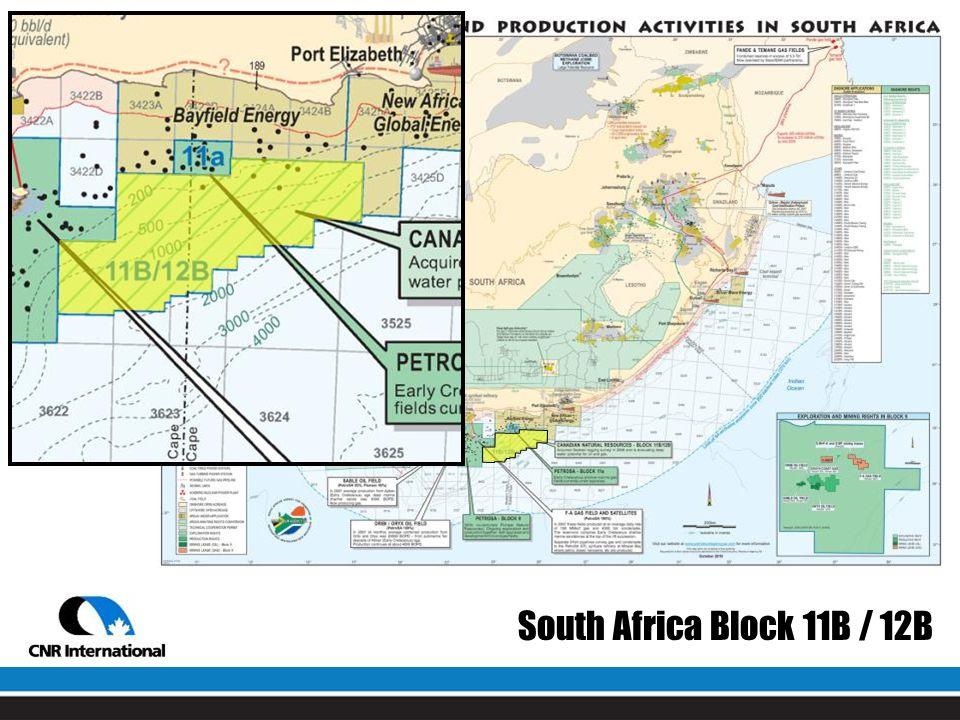 South Africa Block 11B / 12B