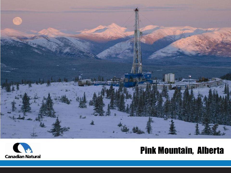 Pink Mountain, Alberta
