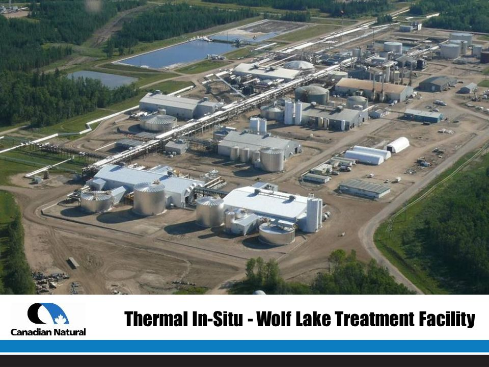 Thermal In-Situ - Wolf Lake Treatment Facility