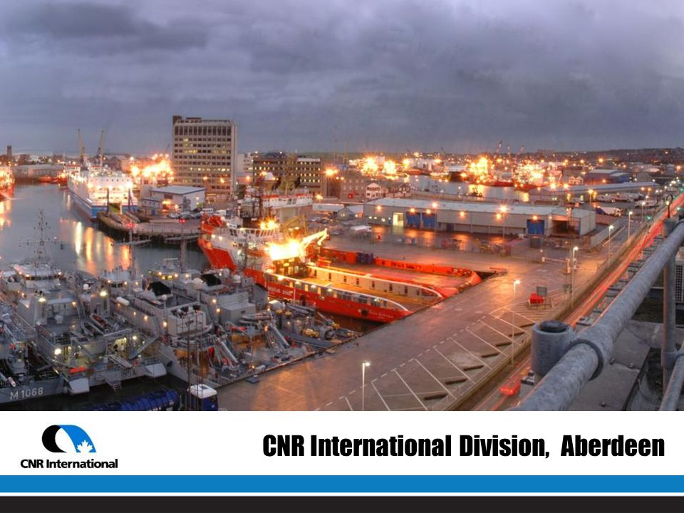 CNR International Division, Aberdeen