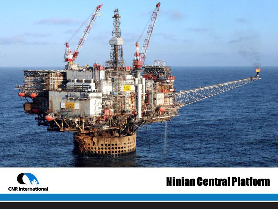 Ninian Central Platform