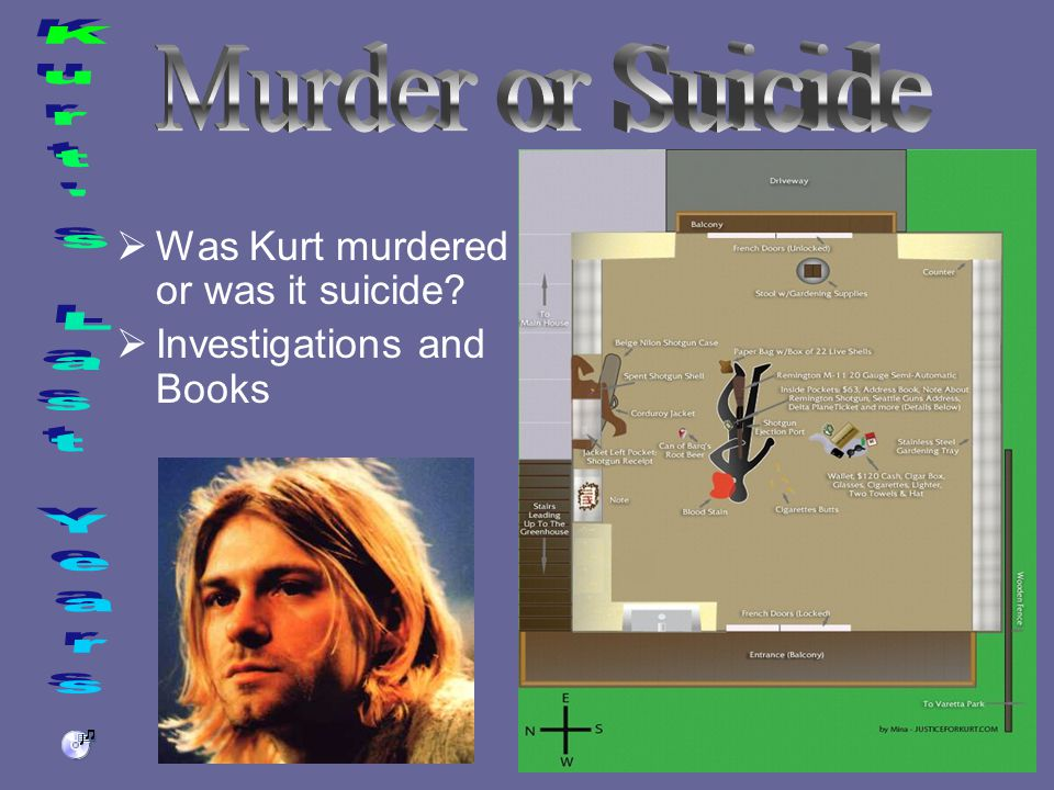  Was Kurt murdered or was it suicide  Investigations and Books