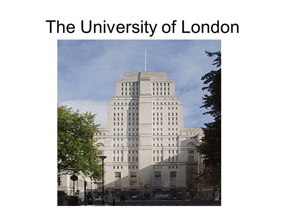 The University of London