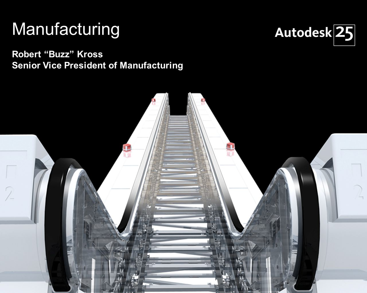 1© 2007 Autodesk Manufacturing Robert Buzz Kross Senior Vice President of Manufacturing