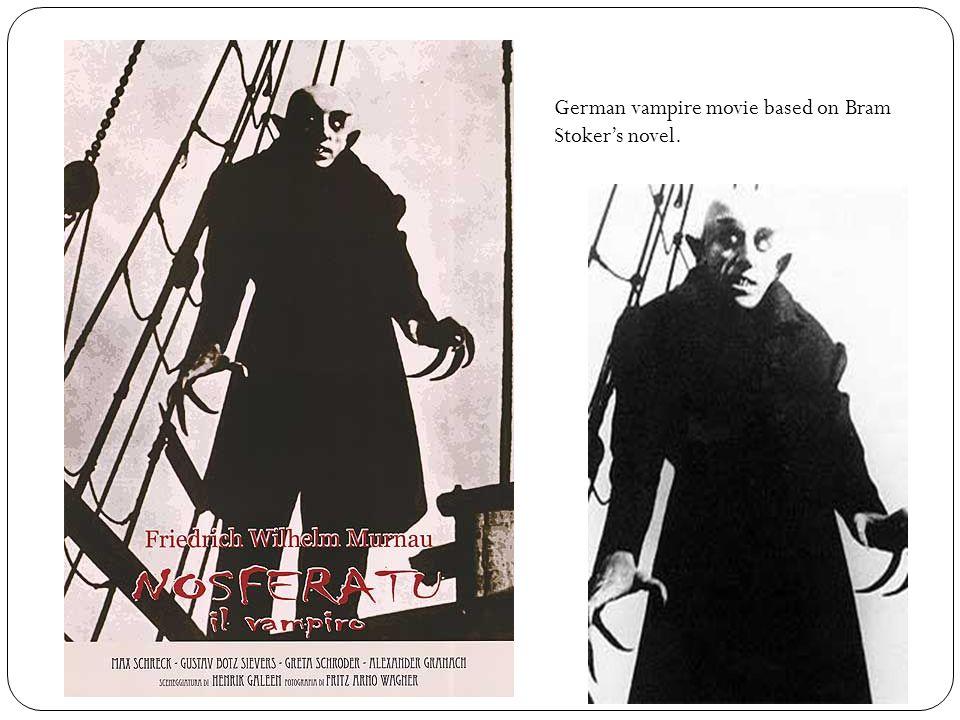German vampire movie based on Bram Stoker's novel.