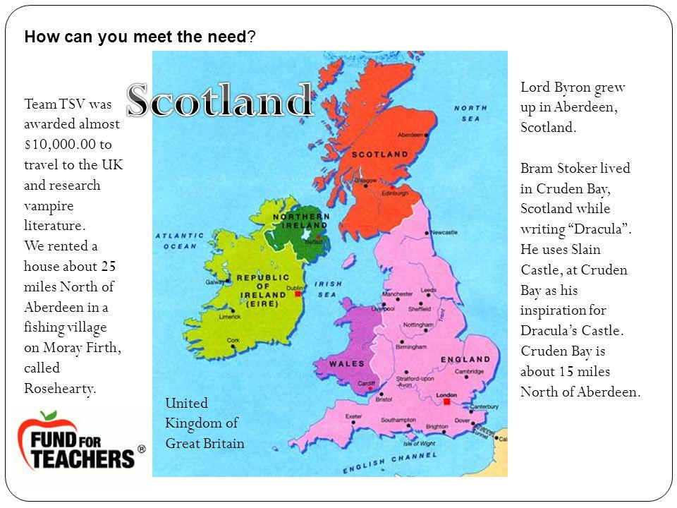 Lord Byron grew up in Aberdeen, Scotland.