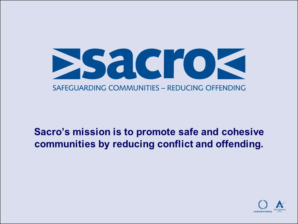 Sacro Mediation Services Community Mediation Street Mediation Homelessness Mediation (pilot)