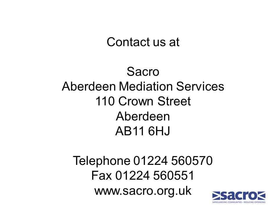 Sacro Restorative Justice Services Adult Restorative Justice Service Youth Restorative Justice Service Community Based Reparation Service