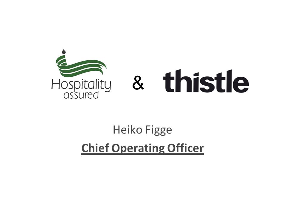 Heiko Figge Chief Operating Officer &