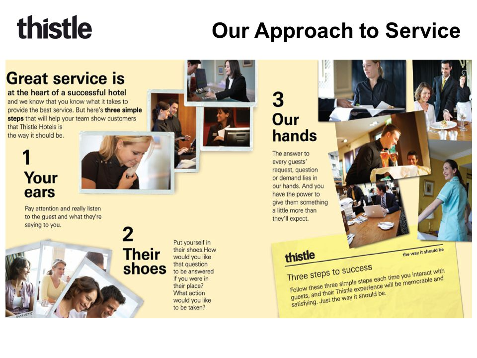 Our Approach to Service
