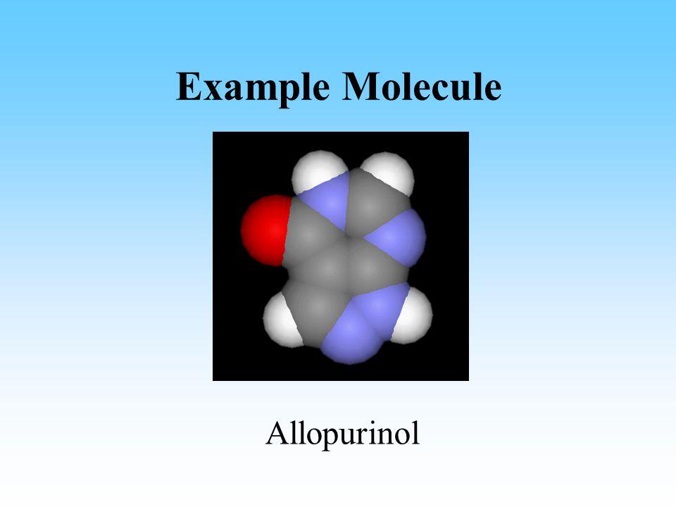 Example Molecule Allopurinol