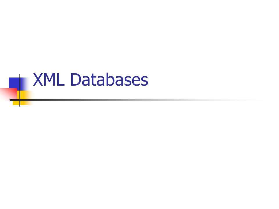 XML Databases