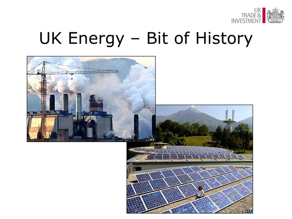 UK Energy – Bit of History