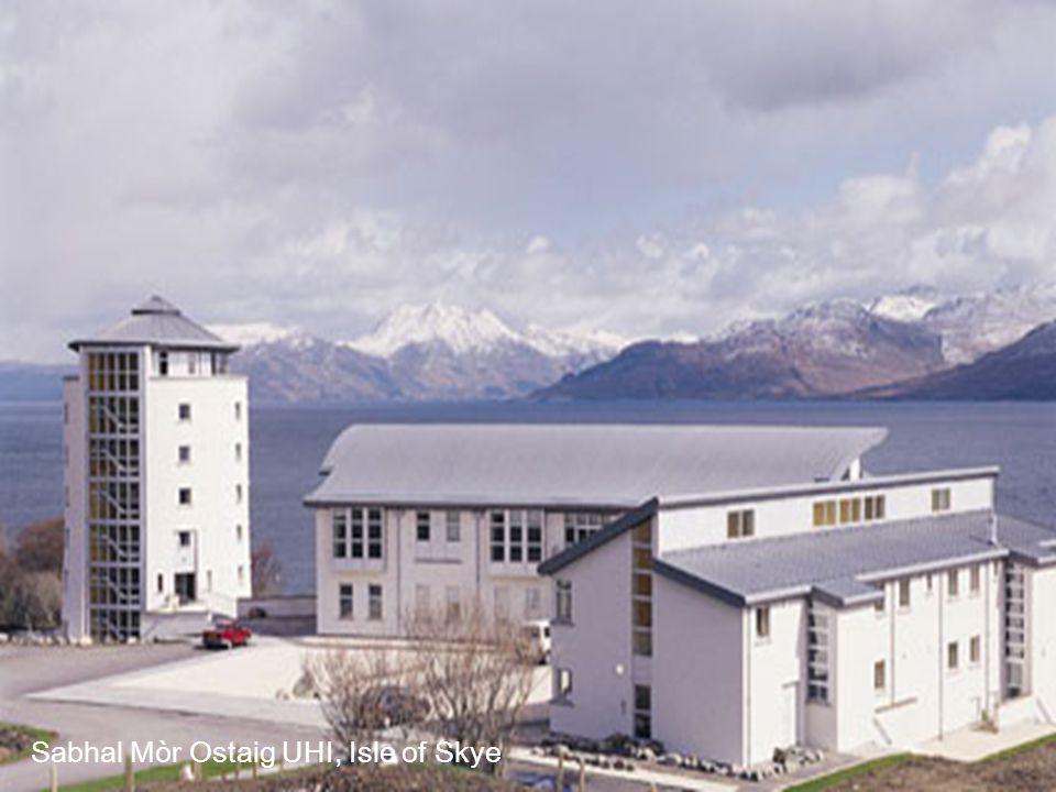 Sabhal Mòr Ostaig UHI, Isle of Skye