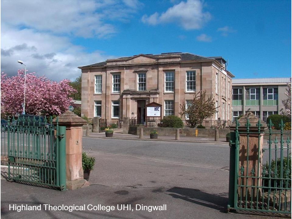 Highland Theological College UHI, Dingwall