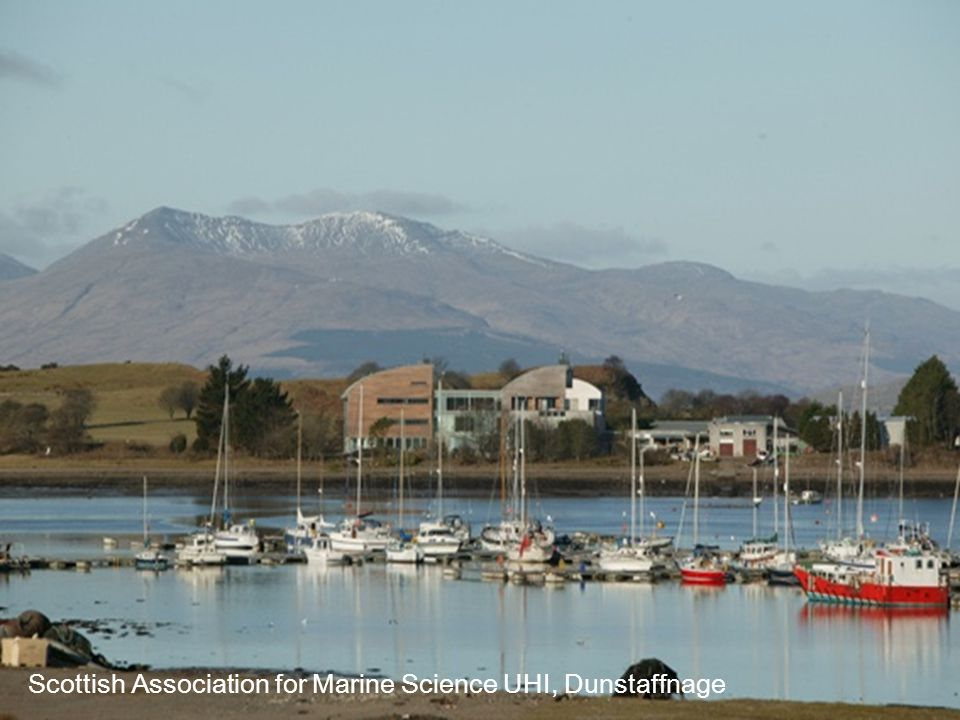 Scottish Association for Marine Science UHI, Dunstaffnage