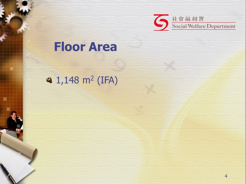 4 Floor Area 1,148 m 2 (IFA)