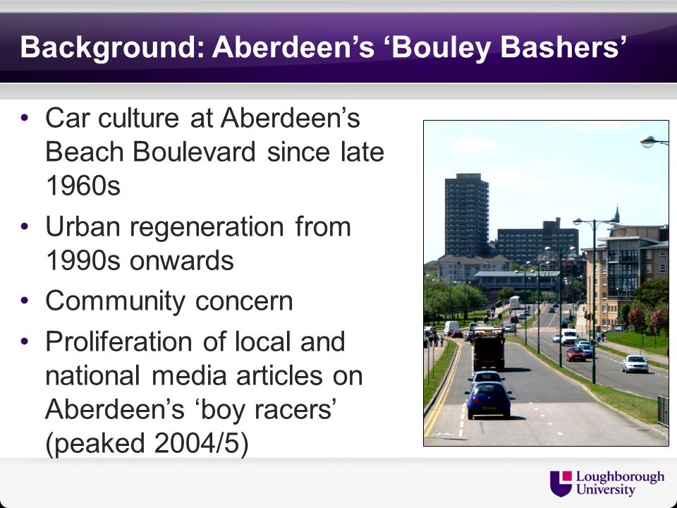 Media Representation ' For more than 30 years they've been at it – speeding recklessly up and down the Beach Boulevard.