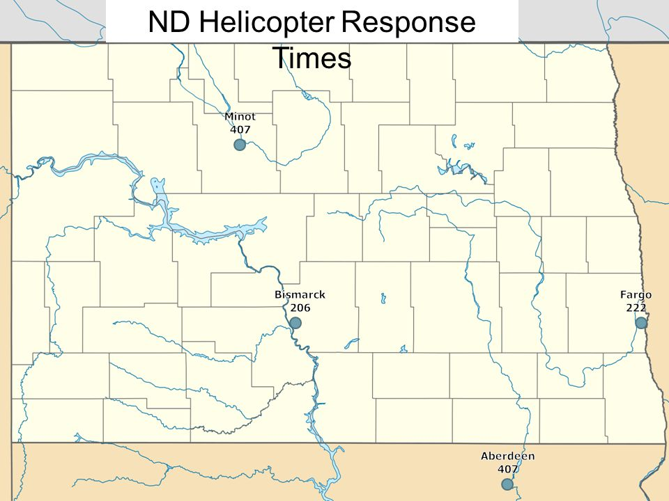 ND Helicopter Response Times