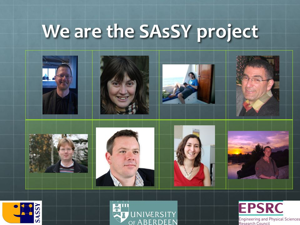 We are the SAsSY project 4
