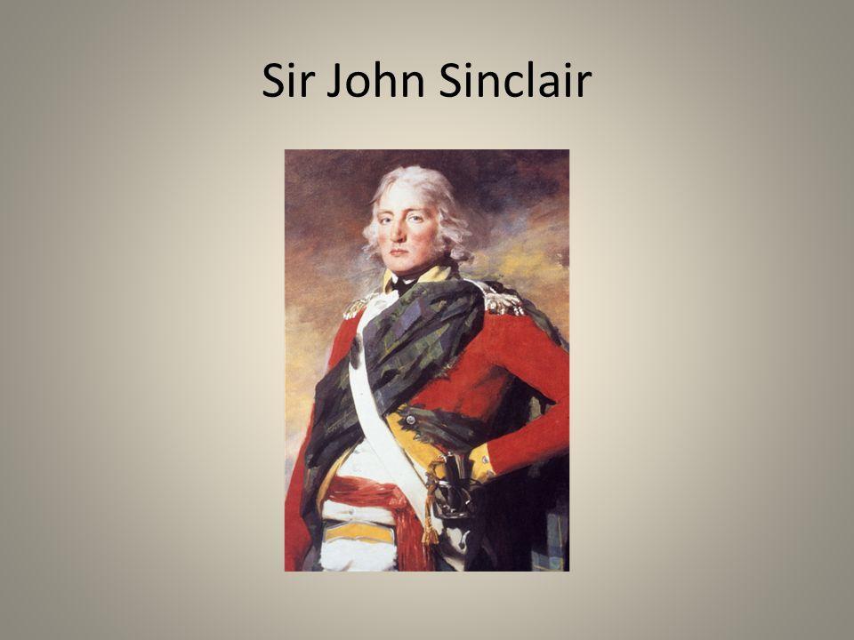 Sir John Sinclair