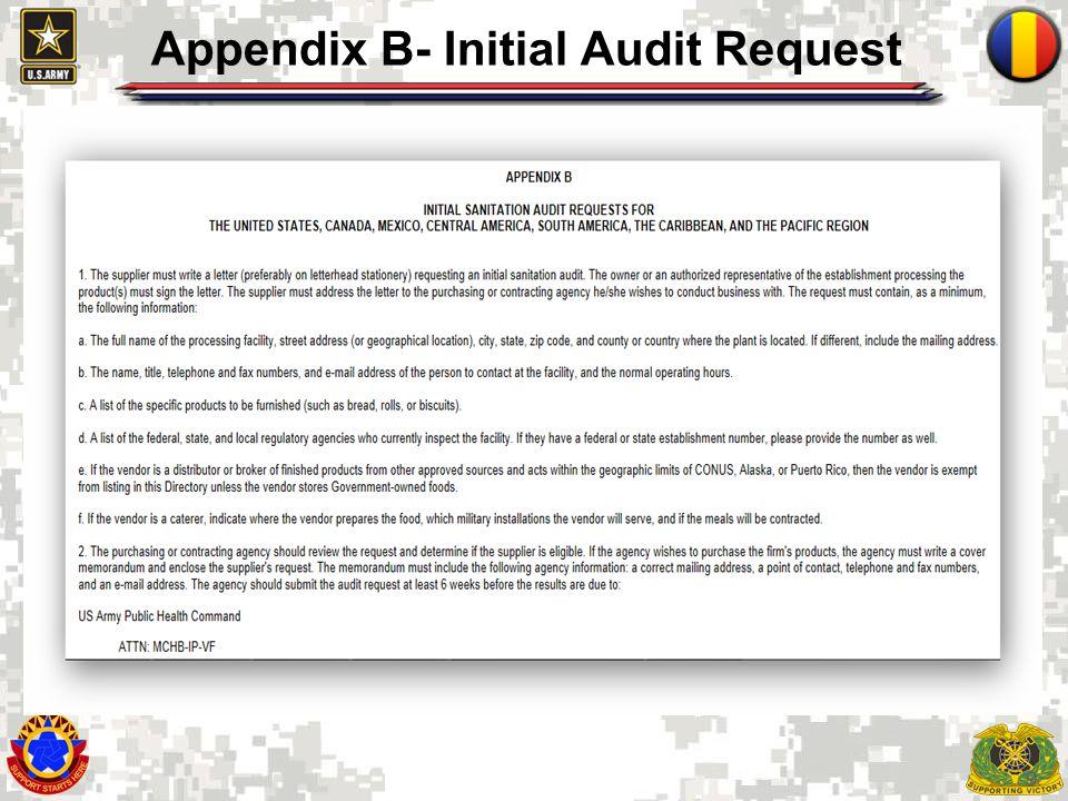 10 Appendix C-Listing by Establishment