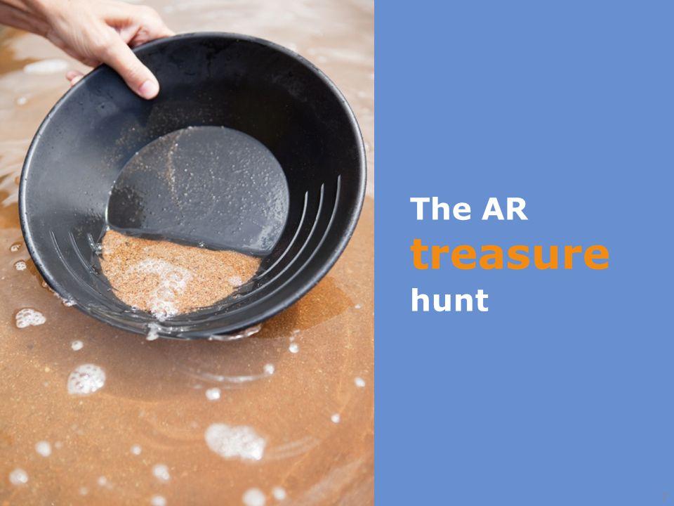 7 The AR treasure hunt
