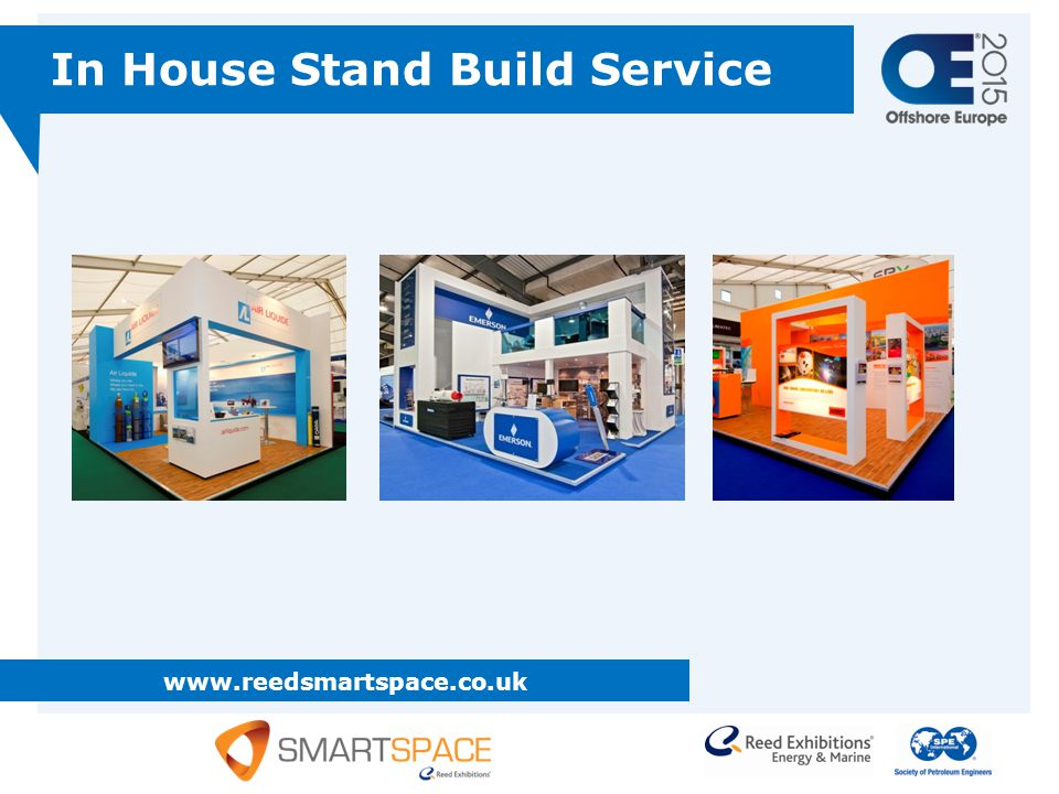 www.reedsmartspace.co.uk In House Stand Build Service