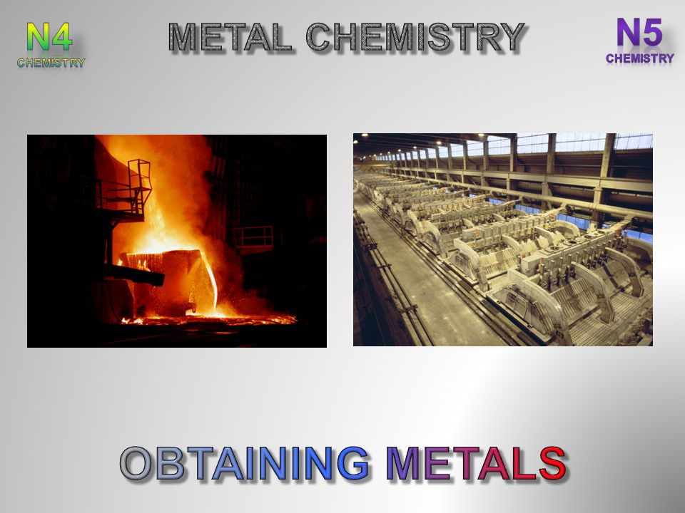 After completing this topic you should be able to : State ores are naturally occurring compounds of metals.