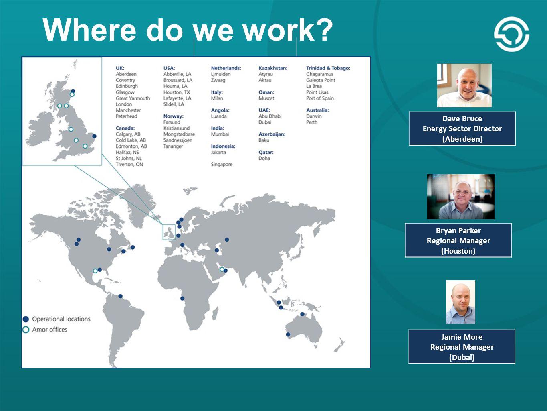 USA HubUK Hub Where do we work.