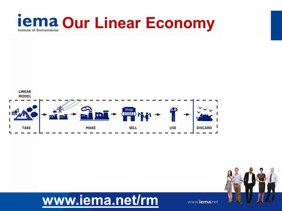 Our Linear Economy www.iema.net/rm