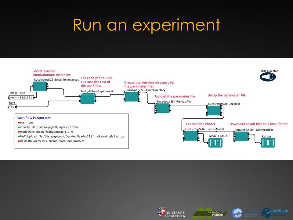 Run an experiment