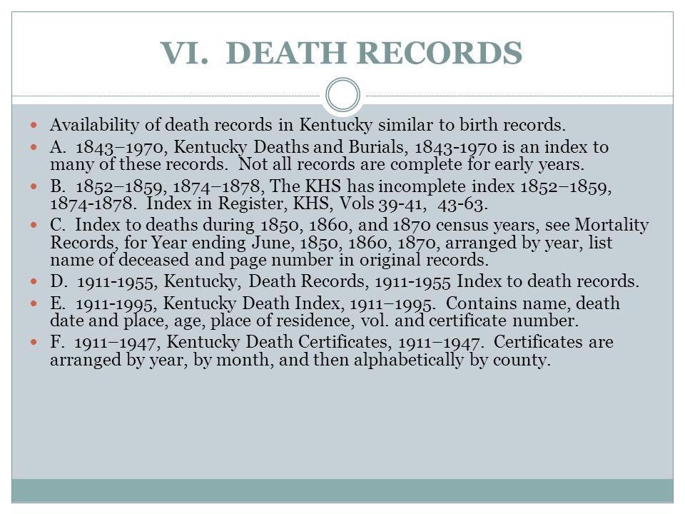 V.DIVORCE RECORDS A. Divorces 1792 - 1849 granted by state legislature.