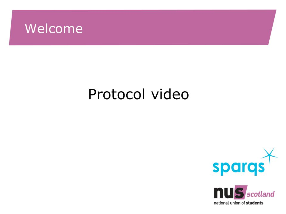 Welcome Protocol video