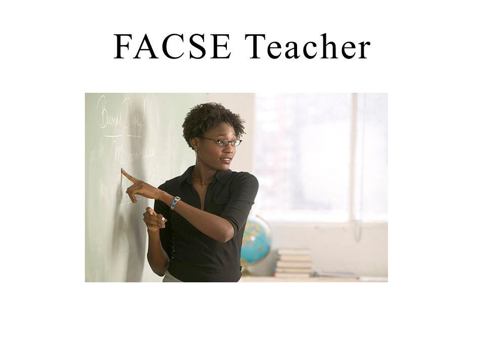 FACSE Teacher