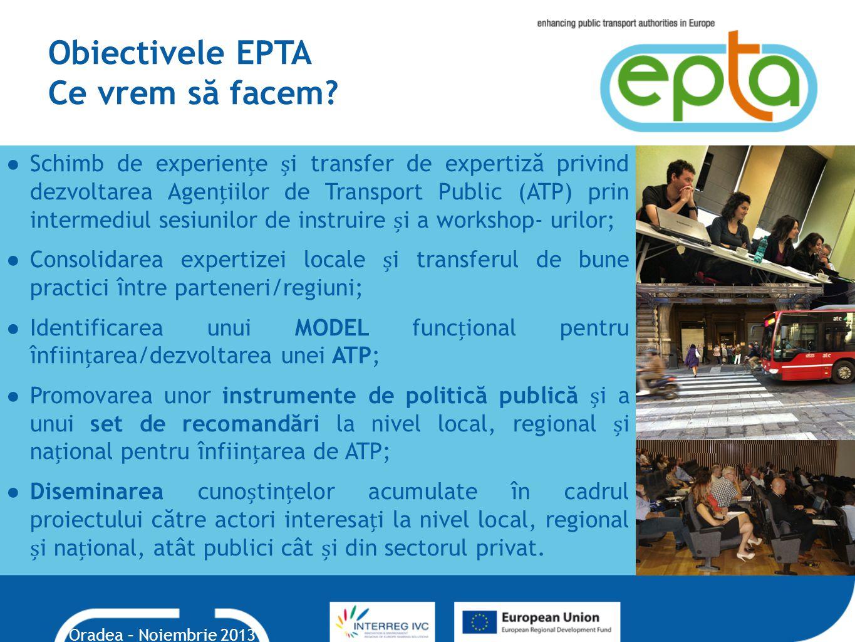 Obiectivele EPTA Ce vrem să facem.