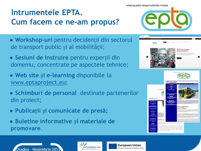Intrumentele EPTA.Cum facem ce ne-am propus.