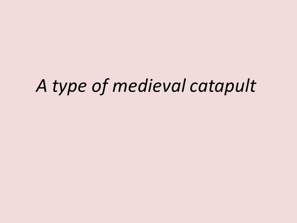 A medieval loo