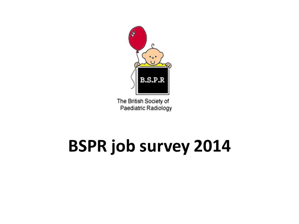 BSPR job survey 2014