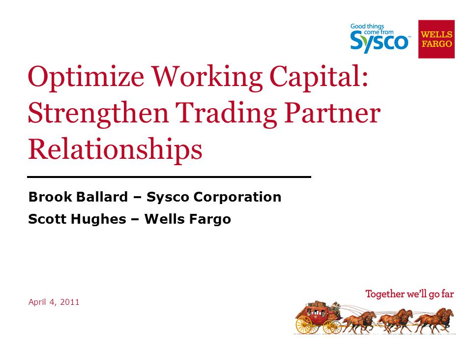 Sysco's Annual Payment Tender Type